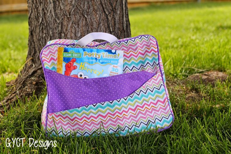 To Grandma's House Bag FREE Pattern & Tutorial by GYCT Designs