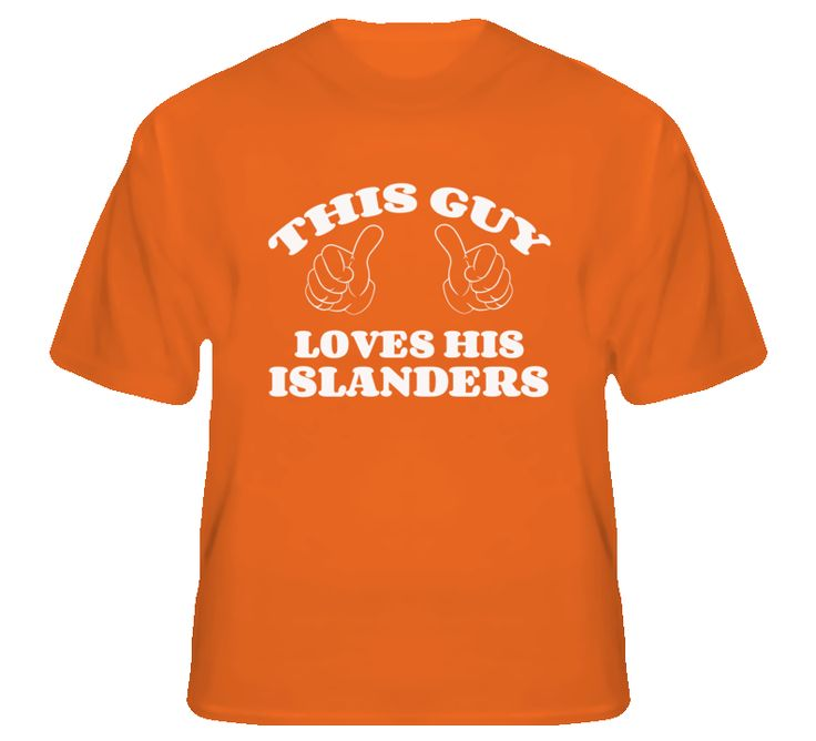 This Guy Loves His Islanders T Shirt