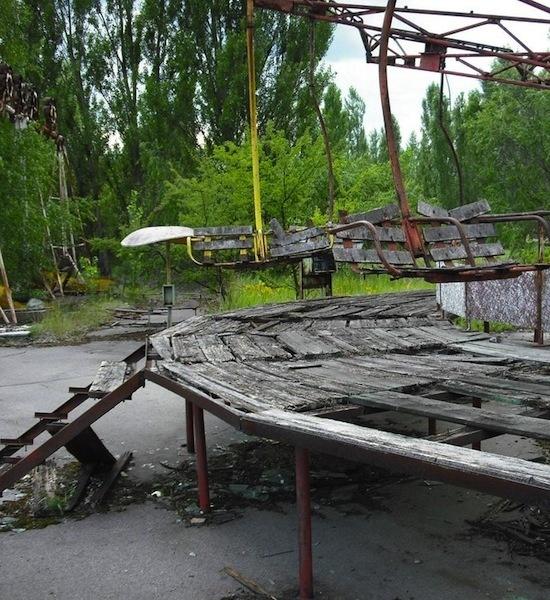Chernobyl Disaster Area-Creepy