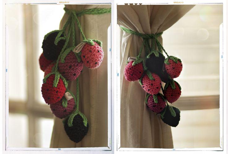 Frutillas de crochet
