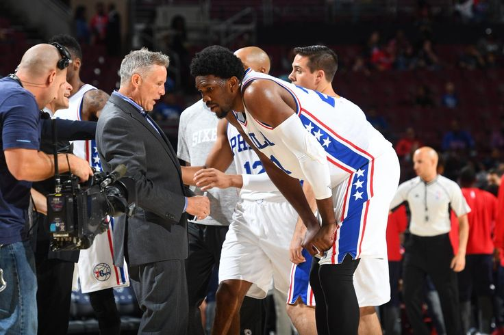 Sixers coach compares Joel Embiid to Tim Duncan -Embiid has been impressive in the preseason so far and Philadelphia head coach Brett Brown wasn't shy in his praise for the big man.