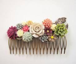 Billedresultat for hår accessories wedding green