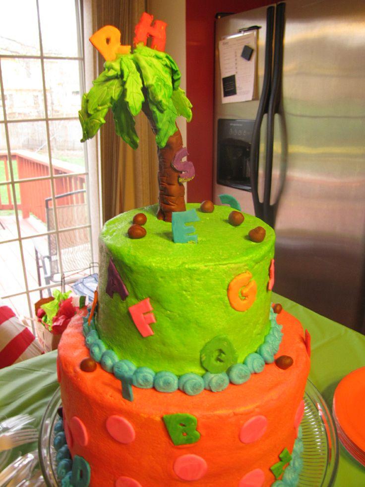 Chicka Chicka Boom Boom Cake Ideas
