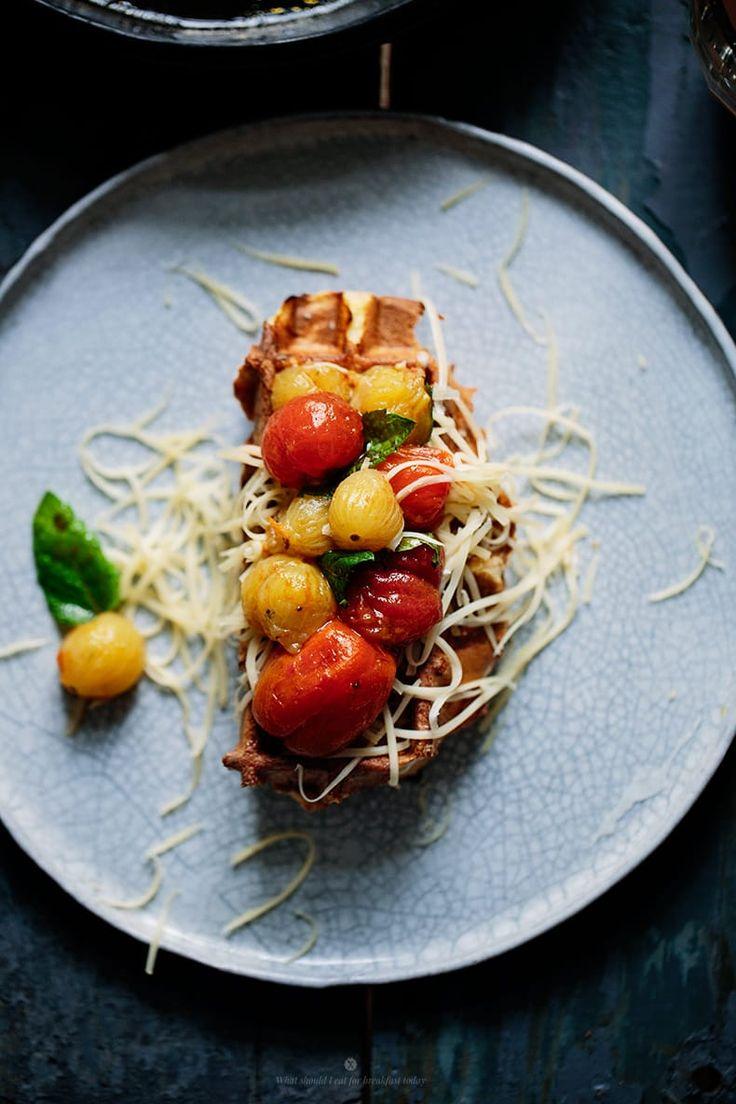 Amazing bruschetta with cute tiny tomatoes by Marta Greber