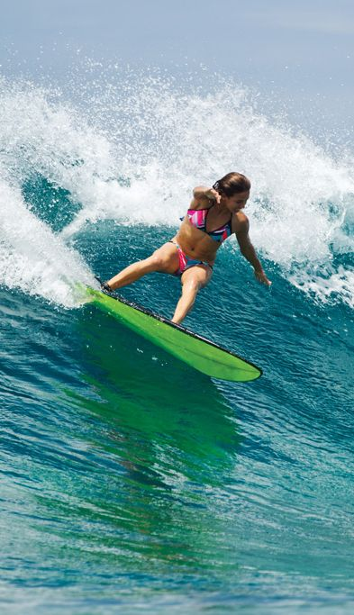 Some action by our champ Sally Fitzgibbons #surf