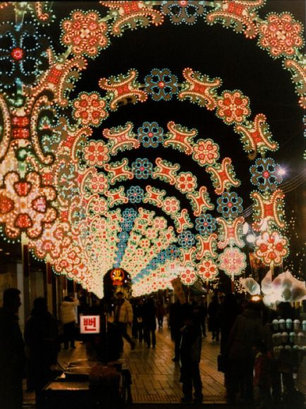 christmas lights from around the world | Stunning Christmas Light Displays From Around the World
