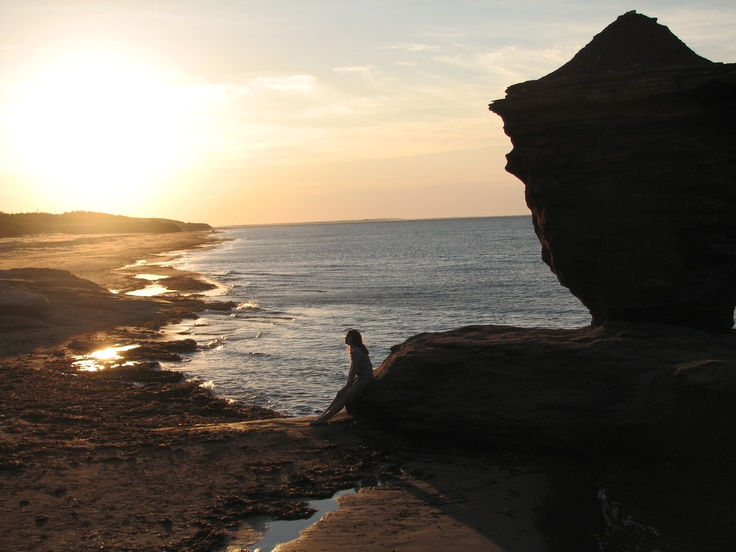 Tea cup sunset. Twin Shores Camping Area - Darnley, Prince Edward Island