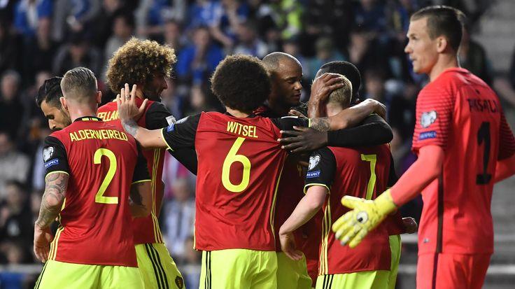 De Rode Duivels staan opnieuw wat dichter bij het WK in Rusland. De Belgen wonnen al bij al makkelijk met 0-2 in Estland. Dries Mertens en Nacer Chadli scoorden de Belgische doelpunten. Door het gelijkspel in Bosnië Herzegovina - Griekenland vergroot België z'n voorsprong tot 4 punten in groep H.