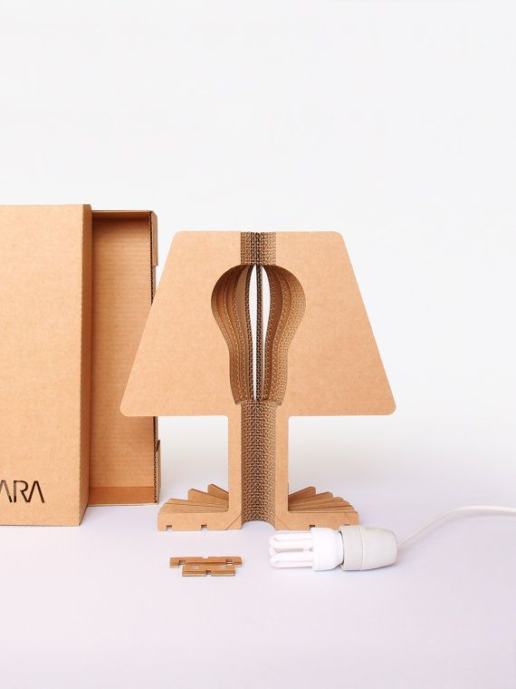 Cartonado | Cardboard table lamp