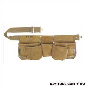 Kuny's クニーズ 革製腰袋ダブルバッグ 腰袋両側ベルト(ベルト付き) (AP-622 )