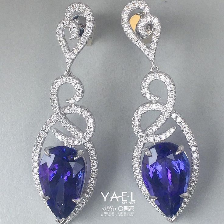 Dont miss a chance to see our finest and most opulent tanzanite creations at IJO…