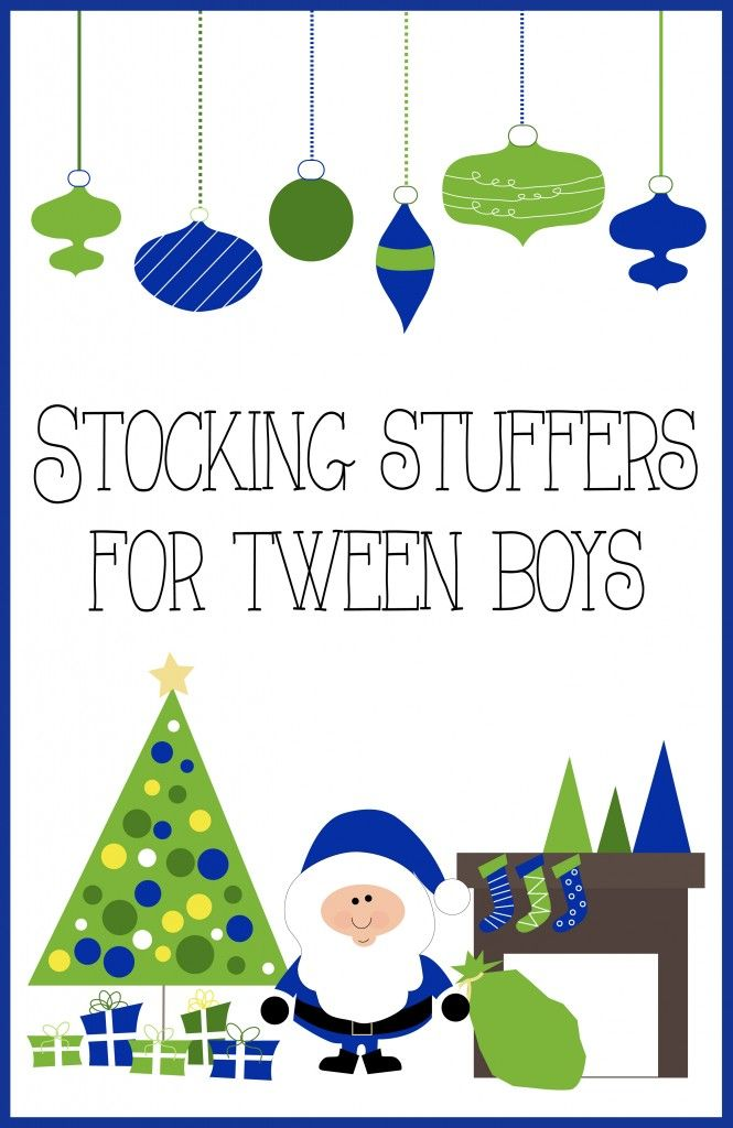 Stocking Stuffer gift ideas for Tween Boys