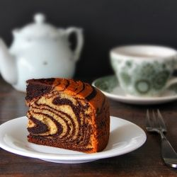 The eggless, striped wonder. You won't believe how easy this stunning cake actually is, until you try it!