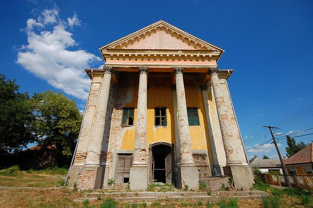Hungary: Former Disused Synagogue, Abony