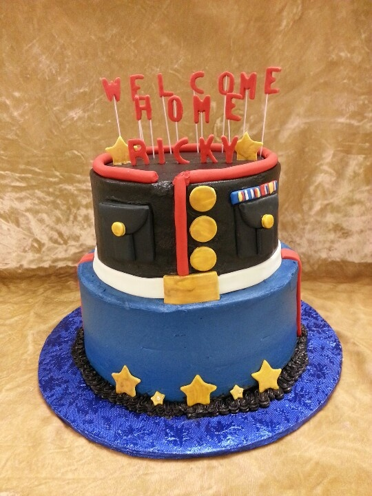 Best 25 welcome home cakes ideas on pinterest welcome for Welcome home cake decorations