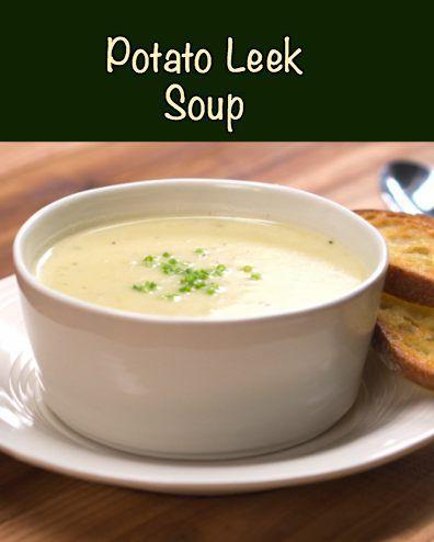 Chilled Potato And Leek Soup Recipe — Dishmaps