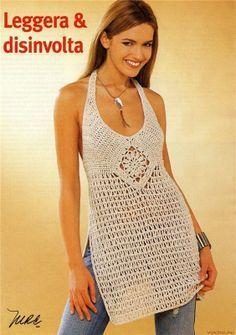 Resultado de imagen para polos tejidos a crochet de verano