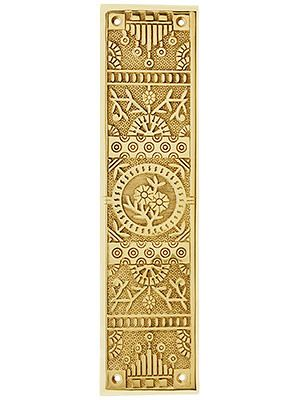 Cast Brass Windsor Pattern Push Plate
