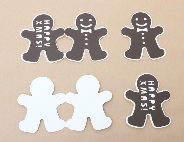 【送料無料】ジンジャークッキーカードset1