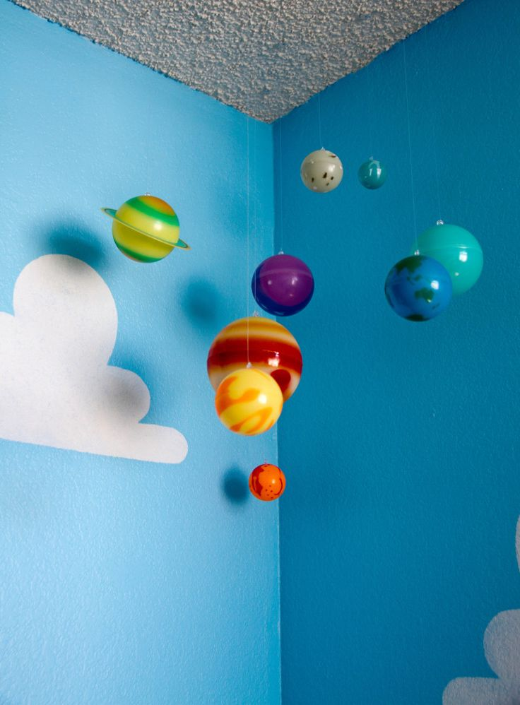 Toy Story Boy\'s Room | Project nursery, Solar system and Solar