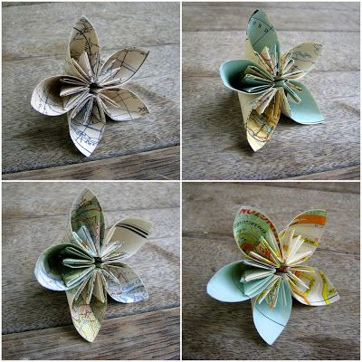 How to: fold paper flowers | Just Imagine - Daily Dose of Creativity