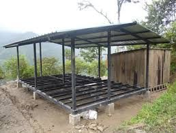 17 mejores ideas sobre estructuras metalicas para casas en - Casas estructura metalica ...
