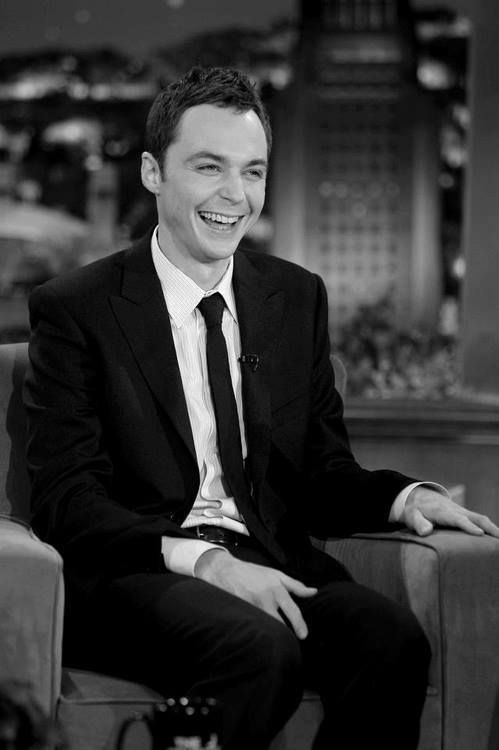 Jim Parsons ... todo un hallazgo su personaje de Sheldon Cooper, en The Big Bang Theory, la mejor de las sitcoms, desde hace mucho tiempo ...