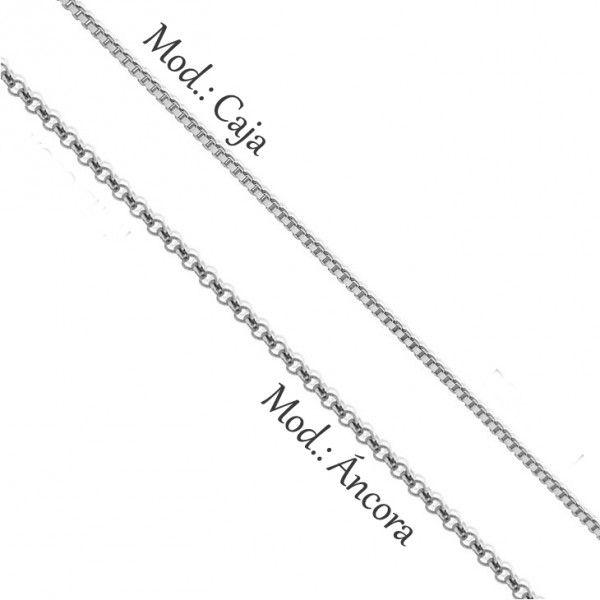 Collar Corazón Partido con Nombre en Dos Acabados - Joyas4You - Joyería personalizada - Joyas personalizadas