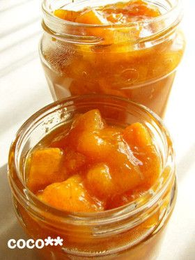 自家製柿で☆柿のジャム by cocoko [クックパッド] 簡単おいしいみんなのレシピが251万品