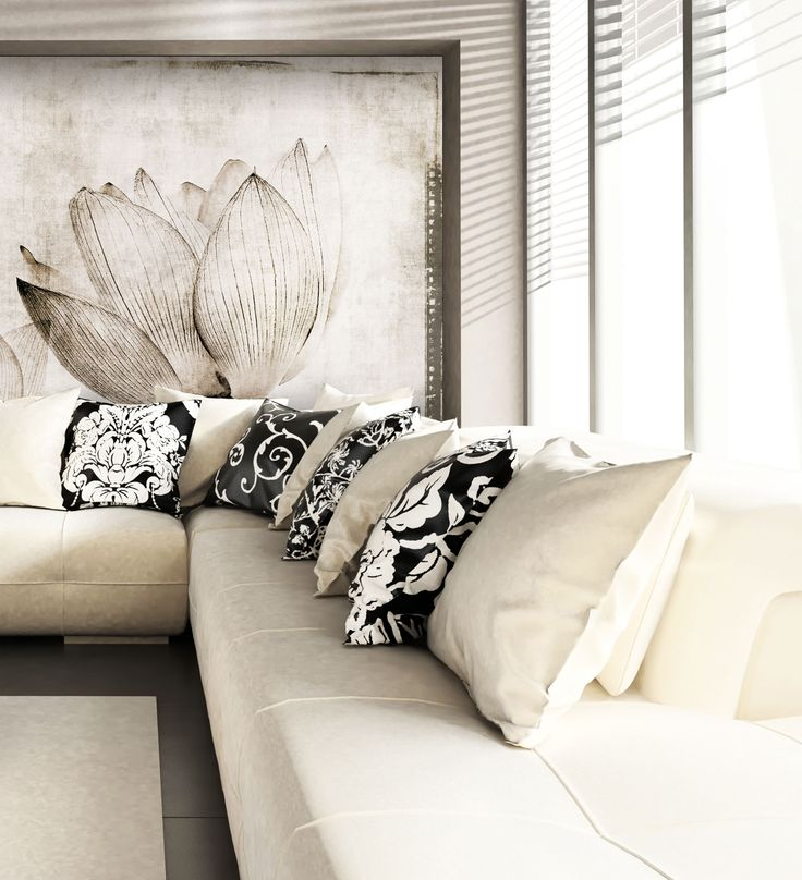 Panoramic wallpaper LOTUS Canvas Collection by N.O.W. Edizioni