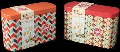 Vital Almond Nougat with California Almonds 250g in tin