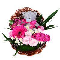 Заказать букет цветов «Ракушка для принцессы»