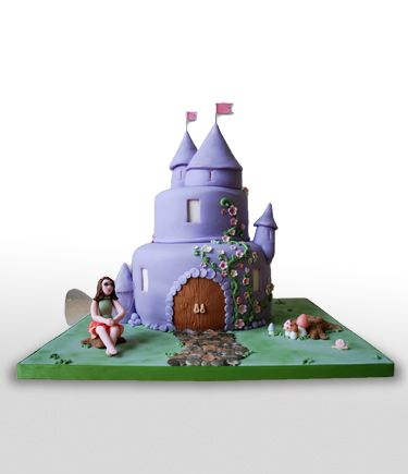 Fairy castle cake from Heather's Cakes