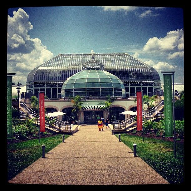 The Phipps Conservatory and Botanical Gardens is  filled with amazing views and happens to be #LEED Silver