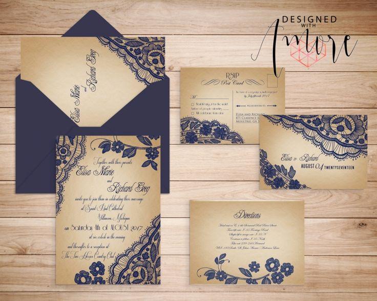 The 25 best Blank wedding invitations ideas on Pinterest