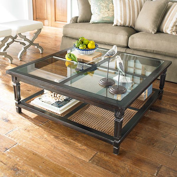 Attractive W4622 Paneled Coffee Table   Espresso Coffee Tables   Another Beautiful Yet  Beyond My Budget Coffee