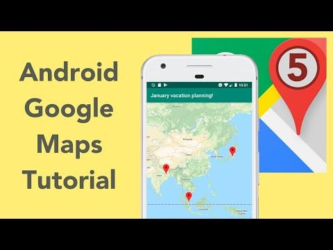 Android Google Maps Tutorial Ep 5 Creation Flow