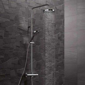 Kludi A-QA Dual Shower System zestaw natryskowy z termostatem