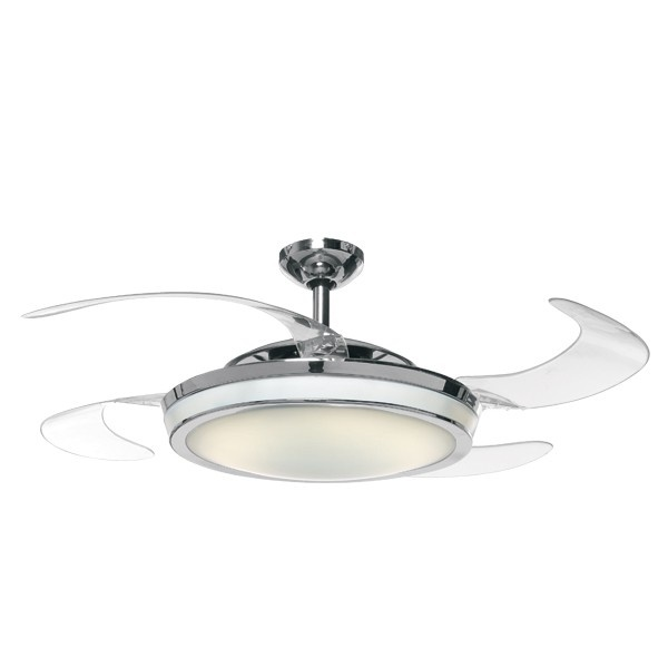 Ceiling fan with clear retractable blades and light for the home pinterest ceiling fans - Fabulous retractable blade ceiling fan ...