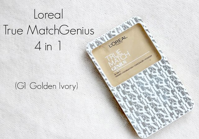 TiTi's Corner !: Loreal True Match Genius 4 in 1 Compact Foundation | Review, Demo, Wear Test | G1 Golden Ivory