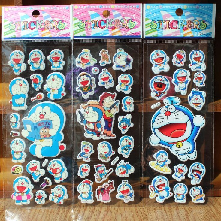 Burbujas palo película de animación de dibujos animados doraemon cascabeleo doraemon gato Europeo y Americano icono, juguetes pegatinas de bolsillo
