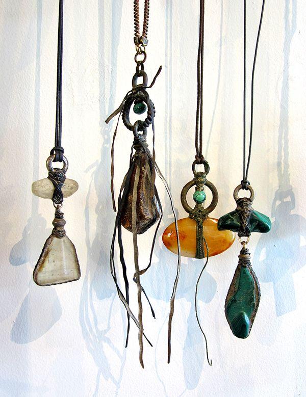 Lou Zeldis talismans/amulets.