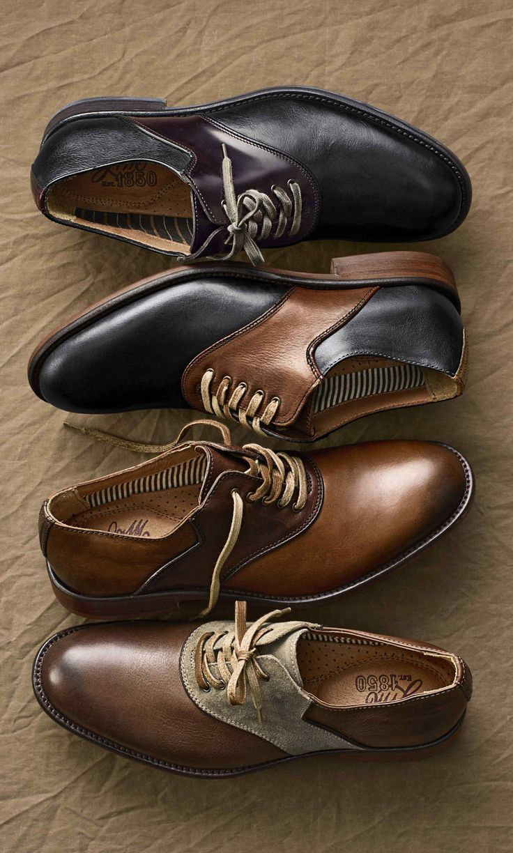 Men's Johnston & Murray - Decatur Saddle shoes.