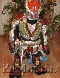 Как сделать новогодний костюм робота