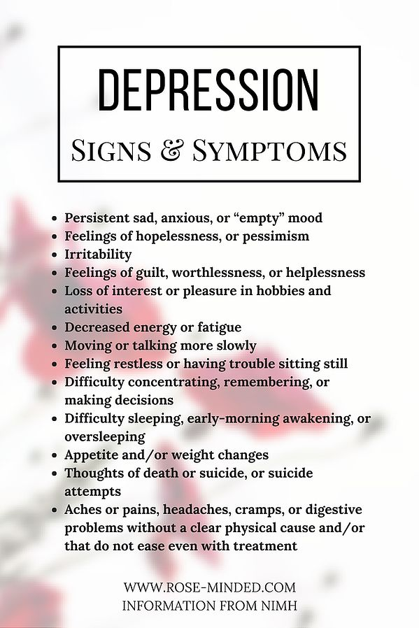 the signs and symptoms of clinical depression The signs and symptoms of catatonia you most likely will not have to be burdened by this disease and the negativity that often comes with symptoms of depression.