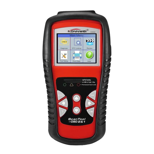 Konnwei KW830 OBD2 Car Automobile Engine Battery Diagnostic Detector Code Reader