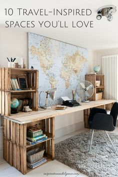 10 beautiful spaces for the creative wanderluster