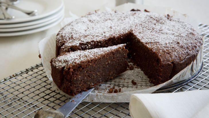 choclate  and hazelnut cake wth the addition of mascarpone
