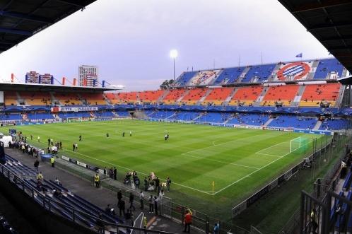 Stade de la Mosson, Montpellier.
