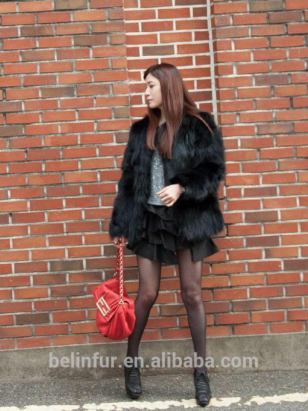 Fabrika doğrudan toptan bayan tilki kürk/uzun doğal tilki kürk kat/siyah tilki kürk-resim-Coats-ürün Kimliği:60351147392-turkish.alibaba.com